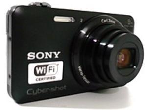 Sony Cyber-Shot DSC-WX80/B 16.2 Megapixels Digital Camera - 8x Optical/32x Digital Zoom - 2.7-inch LCD Display - Black