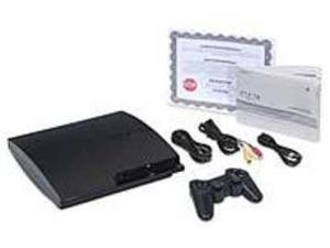 Sony Playstation 3 711719842309 Slim Gaming Console - 160 GB Core Hard Disk Drive - Wireless Controller - Wi-Fi - Black