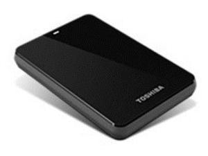 Toshiba Canvio HDTC610XK3B1 1 TB USB 3.0 External Portable Hard Drive - 5400 RPM - 640 MBps - Black