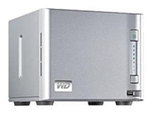 Western Digital ShareSpace WDA4NC80000N 8 TB NAS Server - Gigabit Ethernet - 4 Bays