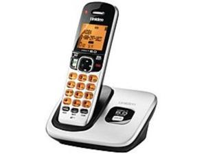 Uniden D1760 DECT 6.0 Expandable Cordless Phone - Backlit LCD Display - Silver