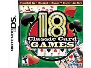 Destineer 828068213398 18 Classic Card Games for Nintendo DS