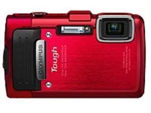 Olympus Stylus V104130RU000 TG-830 16.0 Megapixels iHS Digital Camera - 5x Optical/4x Digital Zoom - 3-inch LCD Display - Red