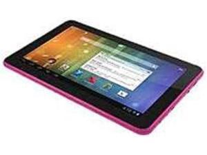 Ematic EGS109PN Tablet PC - 1.10 GHz Processor - 1 GB RAM - 8 GB Storage - 9-inch Multi-Touch Display - Android 4.1 Jelly Bean - Pink