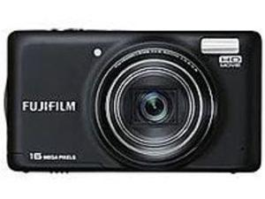 Fujifilm FinePix FX-T410WM T410 16.0 Megapixels Digital Camera - 10x Optical/7.2x Digital Zoom - 3.0-inch TFT LCD Display - Black