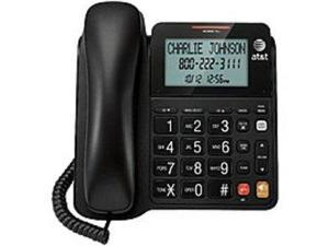 ATT CL2940BK Corded Telephone with Caller ID/Call Waiting - Black