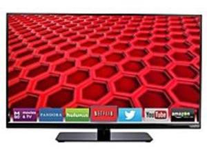 "Vizio E400I-B2 40"" Full-Array 1080p 120 Hz 2000000:1 HDMI LED Smart TV - Black"