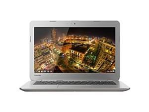 Toshiba Satellite PLM01U-002005 CB35-A3120 13.3 LED (TruBrite) Chromebook  PC- Intel Celeron 2955U Dual-core (2 Core) 1.40 GHz - 2GB DDR3 -  16GB SSD - Chrome OS - Sunray Silver