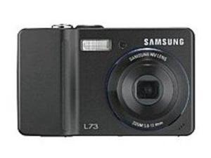 Samsung L73B Digital Camera - 3x Optical Zoom/5x Digital Zoom - 2.5-inch LCD Display - MultiMediaCard, Secure Digital Card - Black