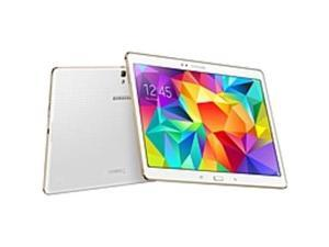 "Samsung Galaxy Tab S SM-T800 16 GB Tablet - 10.5"" - Wireless LAN - Samsung Exynos 5 1.90 GHz - Dazzling White - 3 GB RAM - Android 4.4 KitKat - Slate - 2560 x 1600 - Bluetooth - Quad-core (4 Core)"