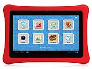 Nabi SN02NV07AWH 2S 7-inch Kids Tablet PC - NVIDIA Tegra 3 1.3 GHz Processor - 1 GB DDR3 RAM - 8 GB Hard Drive - Android 4.0 - Red