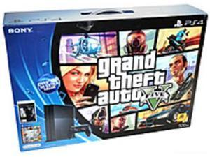 Sony 3000639 PlayStation 4 500 GB  Bundle with Grand Theft Auto V and The Last of Us Remastered - Jet Black