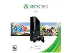 Microsoft L9V-00039 Xbox 360 Gaming Console Bundle with Peggle 2 - 4 GB - Black