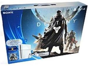 Sony PlayStation 4 3000460 Gaming Console Destiny Bundle - Wireless - Glacier White - ATI Radeon - Blu-ray Disc Player - 500 GB HDD - Gigabit Ethernet - Bluetooth - Wireless LAN - HDMI - USB - ...