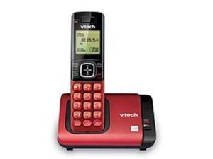 VTech CS6719-16 DECT 6.0 Cordless Phone with Caller ID and Call Waiting - LCD Display - Red