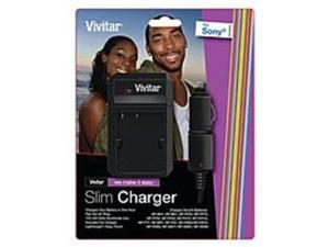 Vivitar SC-SON Universal Battery Charger for Sony Cameras - Lithium-ion - 110-220 V