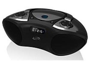 iLive IBC233B Wireless Boomboox with CD Player, FM Radio - Stereo - Black