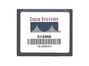 Cisco ASA5500-CF-512MB ASA 5500 Series 512 MB Compact Flash Memory Card