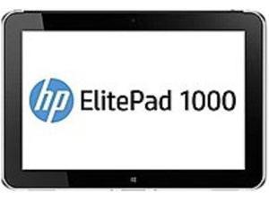 HP ElitePad 1000 G2 J5N62UT Net Tablet PC - Intel Atom Z3795 1.6 GHz Quad-Core Processor - 4 GB LPDDR3 SDRAM - 64 GB Solid State Drive - 10.1-inch Display - Windows 8.1 Professional 64-bit - Black