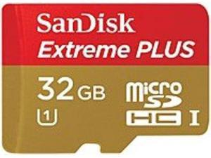 SanDisk 32 GB Micro SD Card Extreme PLUS Flash Memory Card - Class 10 32 GB UHS-I/U1 SDSDQX-032G