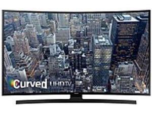Samsung UN65JU6700 65-inch Curved LED Smart 4k Ultra HDTV - 3840 x 2160 - Motion Rate 120 - DTS Studio Sound - Wi-Fi - HDMI