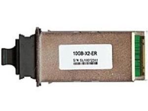 Cisco DS-X2-FC10G-ER 10-Gigabit Fibre Channel X2 Transceiver - 1 x Network - Ethernet 10GBase-ER, SC Single Mode x 2 - 10.52 Gbps