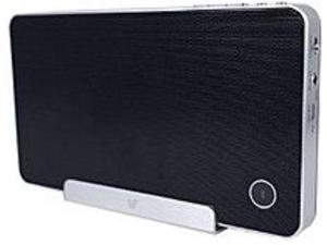 V7 SP5500-BT-BLK-9NC SP5500 Portable Wireless Bluetooth Speaker and Stand - Black