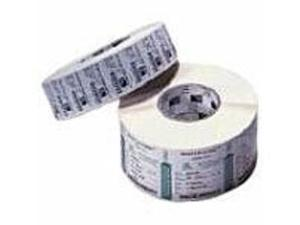 Zebra Z-Perform 2000D 10000294 Perforated Coated Permanent Acrylic Adhesive Labels - 2.5 x 4.0 inches - White - 2280 Pieces