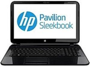 HP Pavilion Sleekbook D2W27UA 15-B123NR Notebook PC - AMD A6-4455M 2.1 GHz Dual-Core Processor - 4 GB DDR3 SDRAM - 500 GB Hard Drive - 15.6-inch Display - Windows 8 64-bit - Black