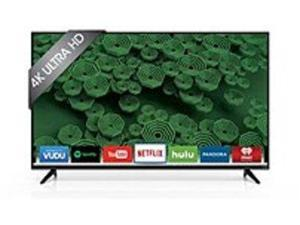 VIZIO D55U-D1 D-Series 55-inch 2160p LED Smart TV - 16:9 - 4K UHDTV - Black - 3840 x 2160 - Full Array LED - 5 x HDMI - USB - Ethernet - Wireless LAN - PC Streaming - Internet Access
