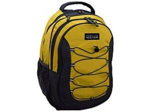 Kenneth Cole 5709743OD Reaction Laptop Backpack with Bungee Cords - Yellow