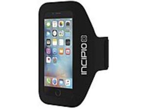 Incipio Carrying Case Armband for iPhone - Black - Water Resistant Exterior, Moisture Resistant - Neoprene