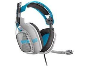 Refurbished: ASTRO Gaming 3AS42-XOU9W-369 A40 Xbox One Gaming Headset - Light Grey, Blue