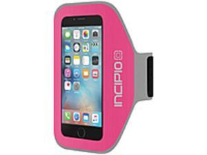 Incipio IPH-1192-PNK Performance Armband Carrying Case for iPhone 6 - Pink - Water Resistant - Moisture Resistant - Neoprene - Armband