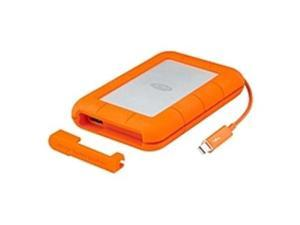LaCie Rugged 500 GB External Solid State Drive - USB 3.0, Thunderbolt - SATA - 387 MB/s Maximum Read Transfer Rate - Portable