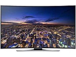 Samsung UN55HU8700 55-inch Curved LED Smart 4K Ultra HDTV - 3840 x 2160 - Clear Motion Rate 240 - Quad-Core Processor - Wi-Fi, Ethernet - HDMI