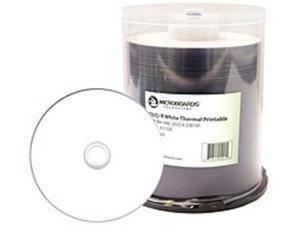 Microboards MIC-DVD-R-EVR100 White Everest Hub-Printable DVD-R Media - Up to 16x - 4.7 GB - 100 Pack
