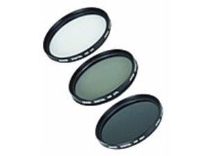 Bower VFK52C Filter Kit - Polarizer, Ultraviolet, Neutral Density Filter - 52 mm Attachment