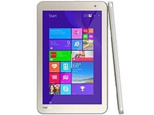 Toshiba Encore 2 PDW0AU-00601F WT8-B32CN Tablet PC - Intel Atom Z3735G 1.33 GHz Quad-Core Processor - 1 GB DDR3L SDRAM - 32 GB Storage - 8-inch Touchscreen Display - Windows 8.1