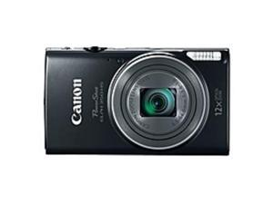 "Canon PowerShot 350 HS 20.2 Megapixel Compact Camera - Black - 3"" LCD - 16:9 - 12x Optical Zoom - 4x - Optical (IS) - TTL - 5184 x 3888 Image - 1920 x 1080 Video - PictBridge - HD Movie Mode - ..."