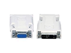 Avocent VAD-27 DVI-I to VGA Adapter - 1 x DVI-I Male Video - 1 x HD-15 Female VGA