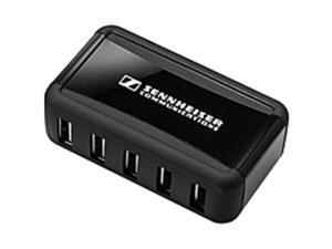 Sennheiser Sennheiser MCH 7 Multi-USB Power Source for CH 10 Headset Charger - 5 V DC Output Voltage - 100 mA Output Current