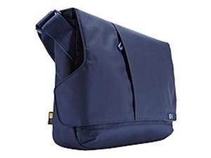 "Case Logic MLM-111 Carrying Case (Messenger) for 11.6"" Notebook, iPad - Blue - Nylon, Nylex Pocket - Shoulder Strap"