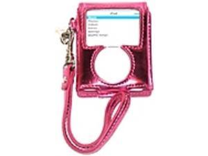 Liz Claiborne SLRUE804-650 iPod Nano Carry Case - Metallic Pink