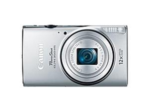 "Canon PowerShot 350 HS 20.2 Megapixel Compact Camera - Silver - 3"" LCD - 16:9 - 12x Optical Zoom - 4x - Optical (IS) - TTL - 5184 x 3888 Image - 1920 x 1080 Video - PictBridge - HD Movie Mode - ..."