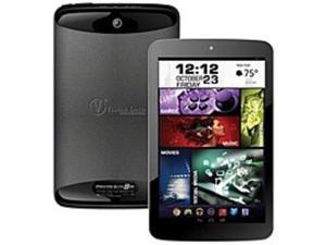 Visual Land Prestige Elite 8QS ME-8QS-16GB-BLK 8-inch IPS Tablet PC - ARM 1.6 GHz Quad-Core Processor - 1 GB DDR3 SDRAM - 16 GB Flash - Android 4.4 KitKat - Black