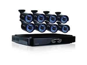 Night Owl 16 Channel Smart HD Video Security System with 2 TB HDD and 8 x 720p HD Cameras - Digital Video Recorder, Camera - 2 TB Hard Drive - 15 Fps - 720 - Composite Video In - Composite Video ...