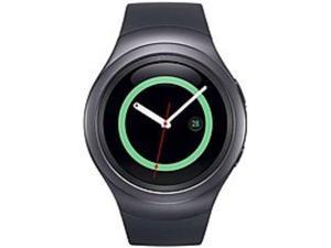 Samsung Gear S2 SM-R7200ZKAXAR Smartwatch - 1.2-inch Super AMOLED Display - 4 GB Memory - Dust and Water Resistant - Wi-Fi - Dark Grey
