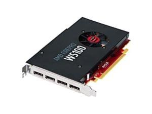 AMD FirePro W5100 Graphic Card - 930 MHz Core - 4 GB GDDR5 - PCI Express 3.0 - Half-length/Full-height - Single Slot Space Required - 128 bit Bus Width - 4096 x 2160 - Fan Cooler - OpenGL 4.4, ...