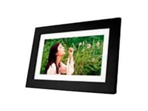 "Viewsonic Digital Frame - 10.1"" LED Digital Frame - Ebony - 1024 x 600 - Cable - 16:9 - JPEG - Calendar, Clock, Slideshow - Built-in 128 MB - USB"
